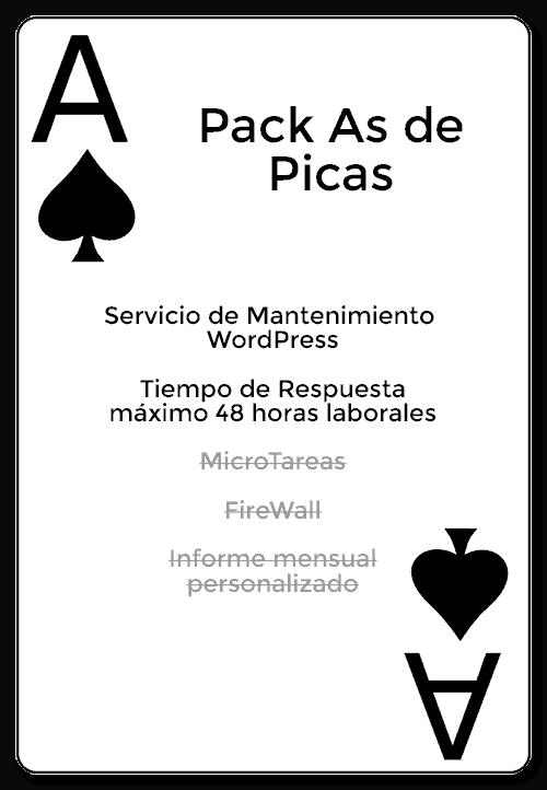 Pack as de picas