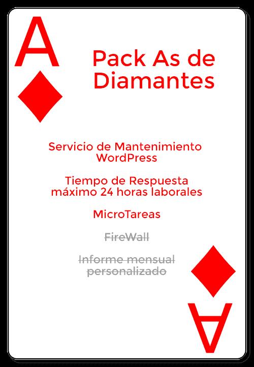 pack as de diamantes